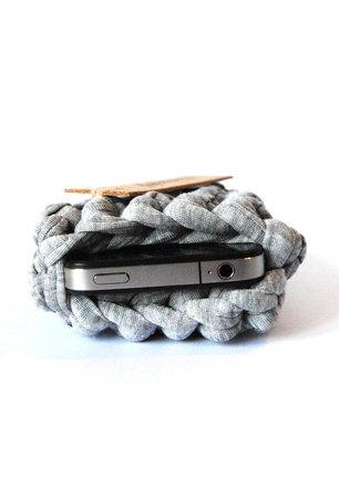 Handmade phone sleeve, save & stylish!