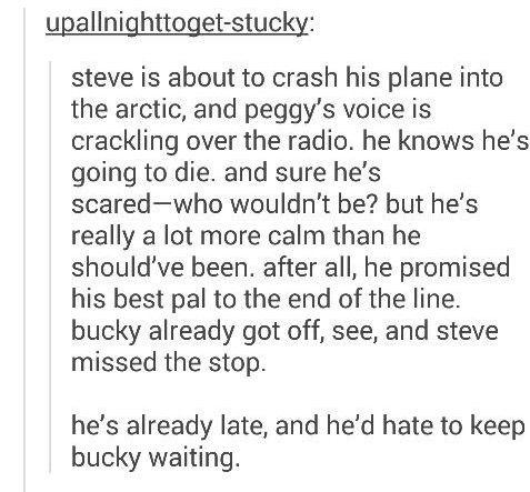 Nuuuuu my heart. It's definitely broken.