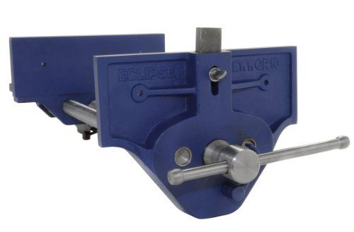 "Eclipse EWWQR10-NA Quick Release Woodworking Vice, Gray Cast Iron, 10"" Size"