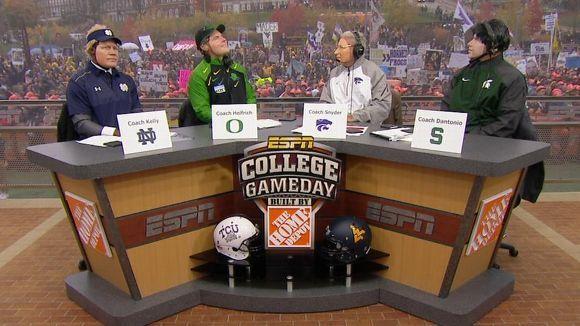NCAAF Video: College Football Playoff masks - ESPN