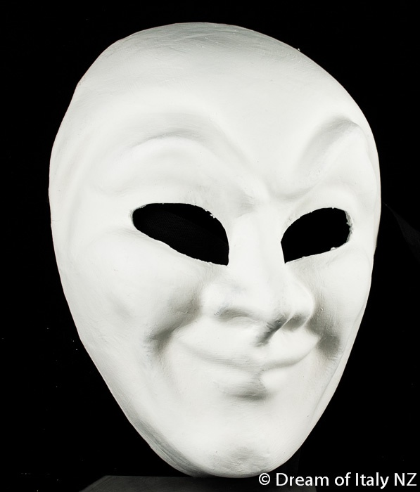 Plain Masks To Decorate Venetian Masquerade Mask Volto Joker Plain #italian #design #decor