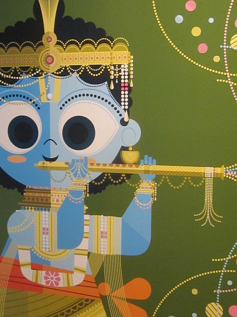 Deities, Demons, and Dudes with 'Staches: Indian Avatars by Sanjay Patel. November 11, 2011–April 22, 2012 Tateuchi Thematic Gallery, 2nd Floor