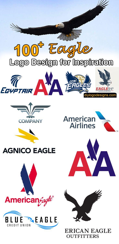 100+ Best Eagle Logo Design Samples for Inspiration  #logodesign #logos #logodesigner #eagle