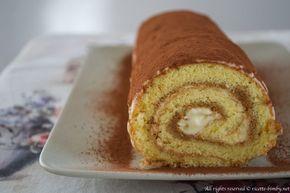 Il rotolo tiramis� � un dolce preparato con la pasta biscuit e farcito con la crema al mascarpone. Scopri la ricetta per prepararlo con il bimby.