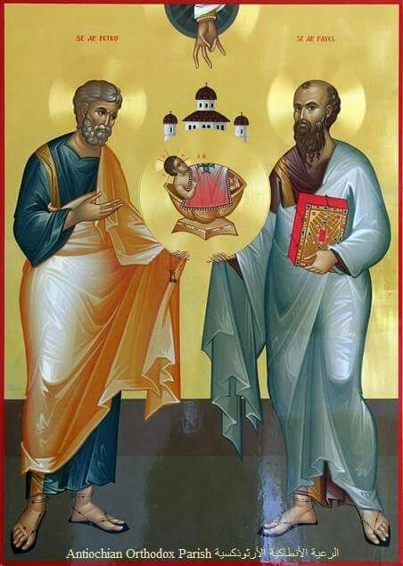 29/6. Saint Apostles Peter & Paul.