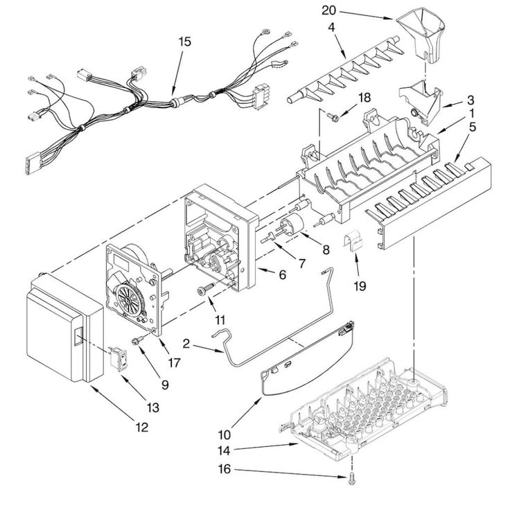 2c124a1822efa49007c49f3be39e40fc best 25 kitchenaid refrigerator ideas on pinterest stainless Basic Electrical Wiring Diagrams at bayanpartner.co