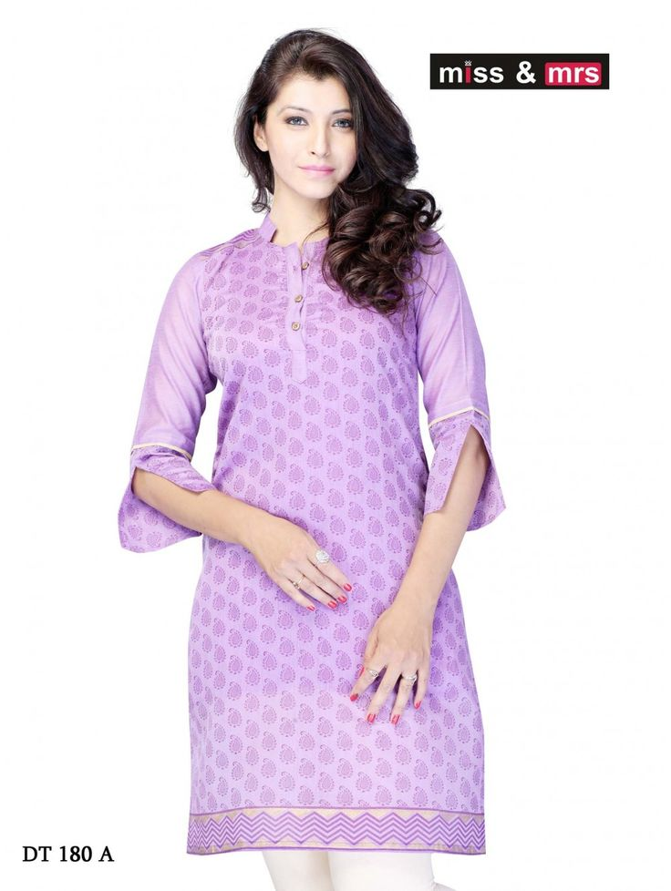 Get Extra 35% off on Miss & Mrs Casual #Women's #Kurti DT180 At Crazora.com  Use #CouponCode: DD35  Shop Now- http://bit.ly/1tSHCu3