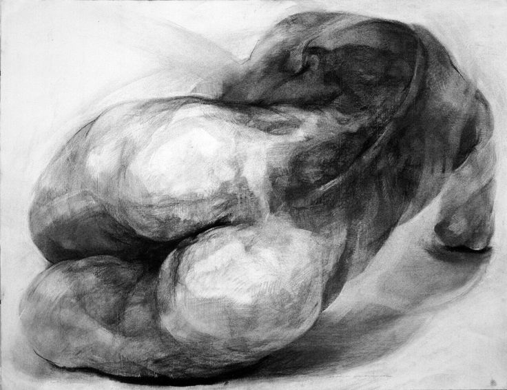 2014/charcoal drawing/figure/the body/