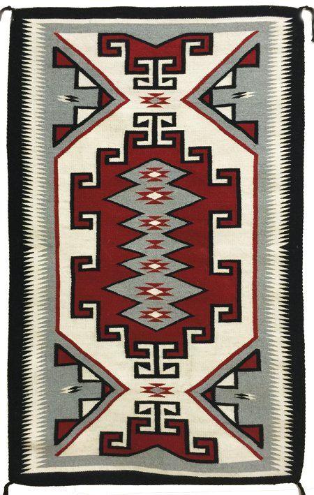 Navajo Rug Native American Vintage Navajo by CulturalPatina