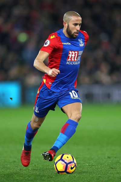 Andros Townsend of Crystal Palace in action during the Premier League match between Crystal Palace and Swansea City at Selhurst Park on January 3, 2017 in London, England.