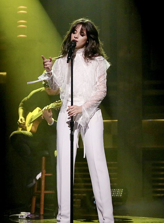 Camila performing at The Tonight Show with Jimmy Fallon - 6/22/17