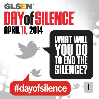 Read National Day of Silence: The Freedom to Speak (Or Not) by Lambda Legal to learn about your legal rights to participate in the Day of Silence.  Read here http://www.lambdalegal.org/sites/default/files/publications/downloads/fs_2014_day-of-silence-faq.pdf>>not technically a fandom date but still imporant