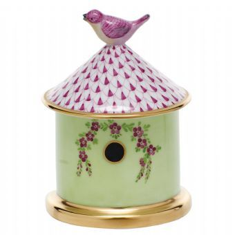 Herend Bird House Box http://www.continentaltablesettings.com