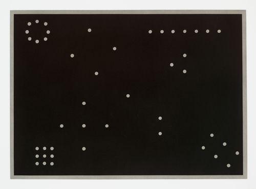 "Mel Bochner (American, born 1940)  Rules of Inference  1974. Aquatint, plate: 22 1/4 x 31 1/16"" (56.5 x 78.9 cm); sheet: 29 7/8 x 39 3/16"" (75.9 x 99.5 cm). Printer: Crown Point Press, Oakland. Publisher: Parasol Press, New York. Edition: 35. John B. Turner Fund. © 2012 Mel Bochner"