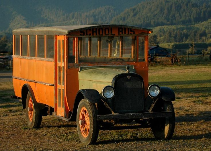 A look to the past! #Vintage #SchoolBus #BusMartInc