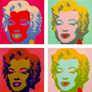 Andy Warhol- MarilynsGoogle Image Result for http://www.nyc-architecture.com/MID/025_MARILYN11.jpg
