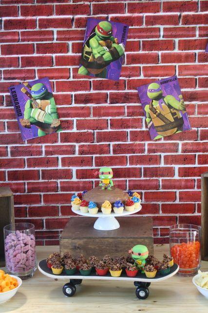 Teenage Mutant Ninja Turtles Birthday Party Ideas | Photo 2 of 24