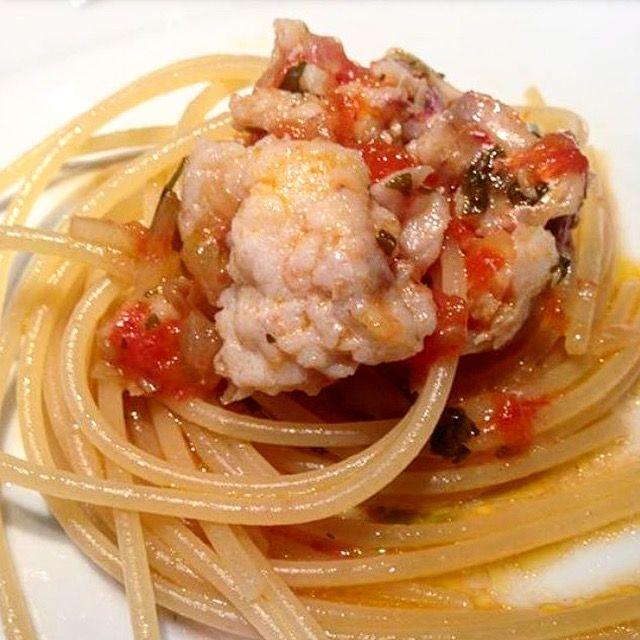 Spaghetti con triglie!