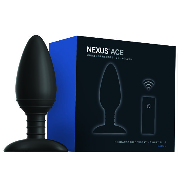 Nexus ACE Large - USB Rechargeable Vibrating Butt Plug  Play your ACE!