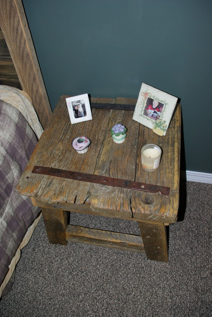 Rustic Night Stand Plans Woodworking Projects Amp Plans