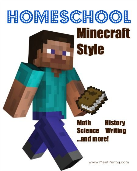 NEW at Meet Penny: Homeschool Minecraft Style