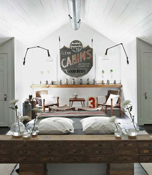177 best french industrial images on pinterest french for French vintage bedroom ideas