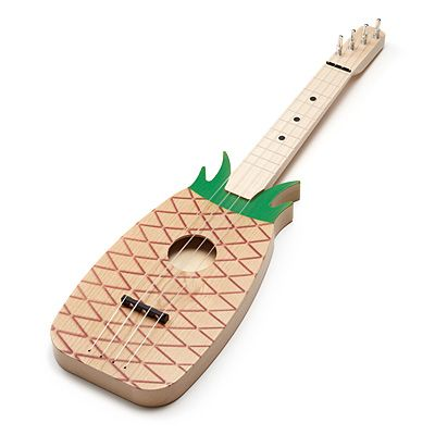 Look what I found at UncommonGoods: pineapple ukulele... for $60 #uncommongoods For alex