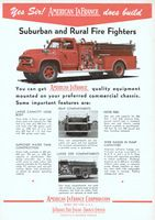 American LaFrance Fire Engine 1955 Ad Picture