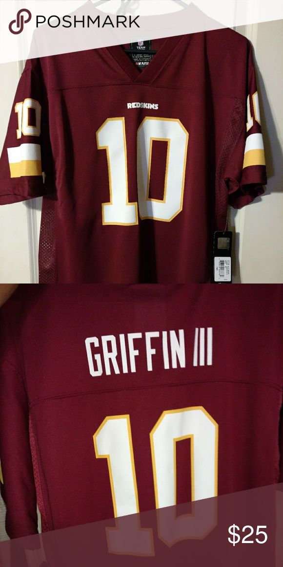 Nwt NFL  Redskins Jersey Nwt,Redskins jersey, youth16-18, never worn redskins Tops