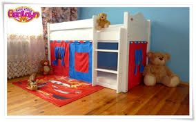 Znalezione obrazy dla zapytania łóżko piętrowe z domkiem