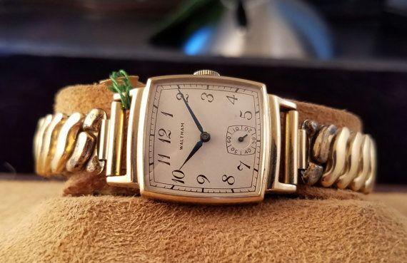 American Waltham Watch Etsy Waltham Watch Waltham Watches
