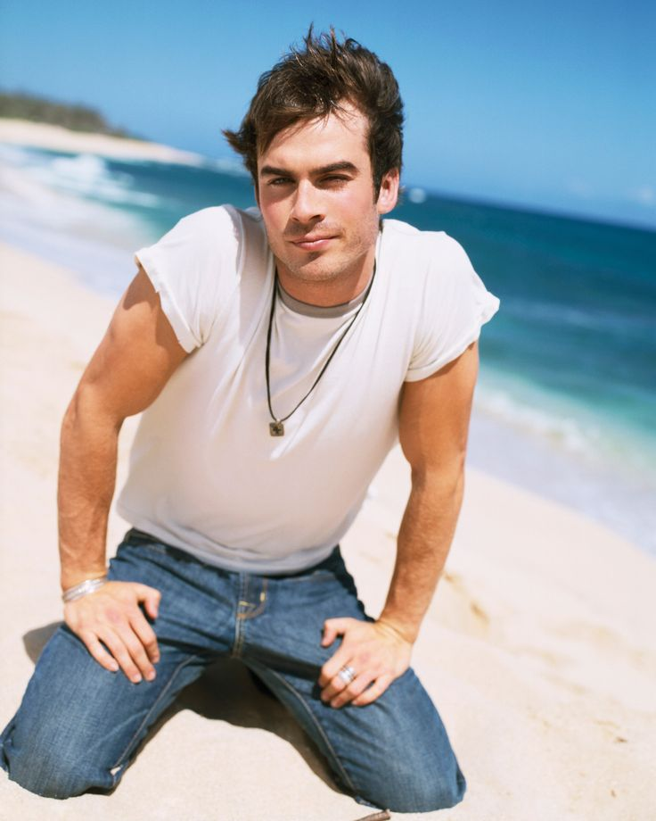 9 Thirst-Inducing Photos of Ian Somerhalder for Your Viewing Pleasure - He perfected his brooding gaze at a young age. from InStyle.com