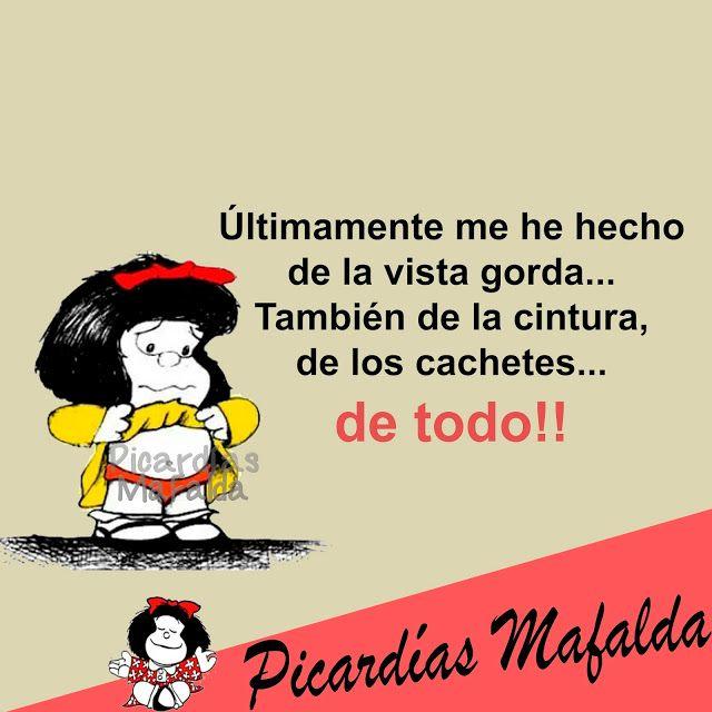 Mundo de Postales: ÚLTIMAMENTE ME HE HECHO DE LA VISTA GORDA...