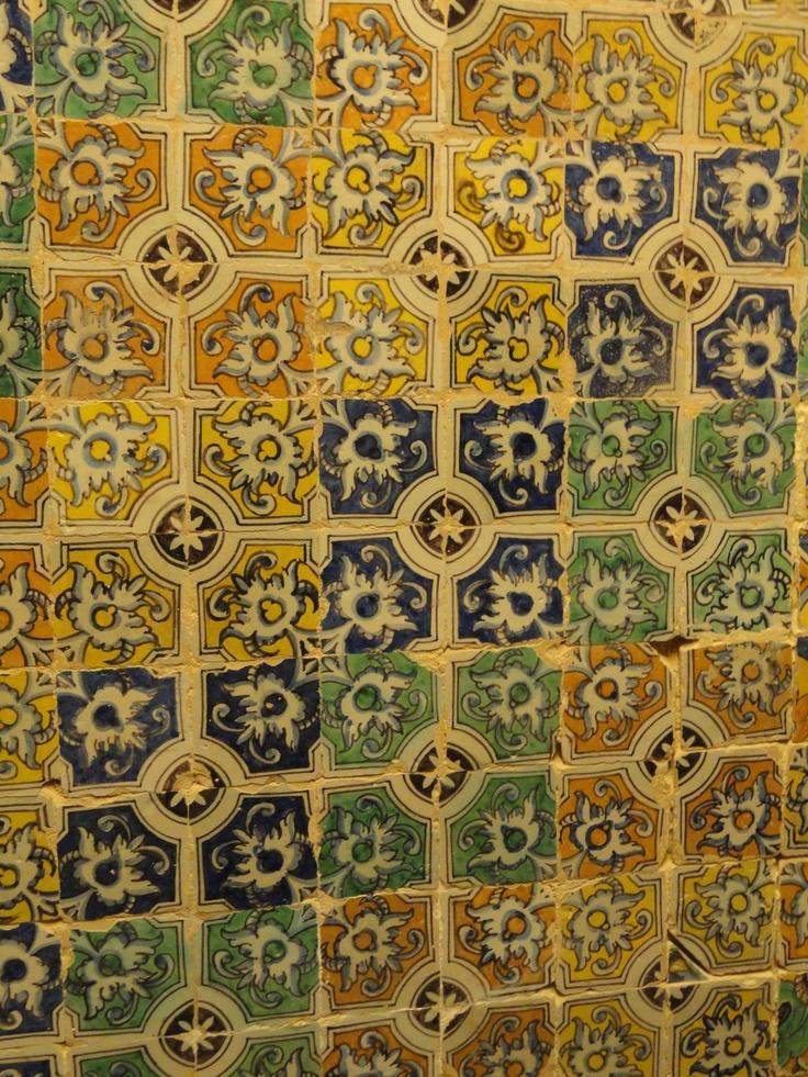 In the Alcazar in Sevilla