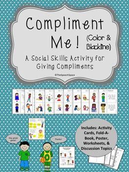 Compliment Me! - A Social Skills Activity