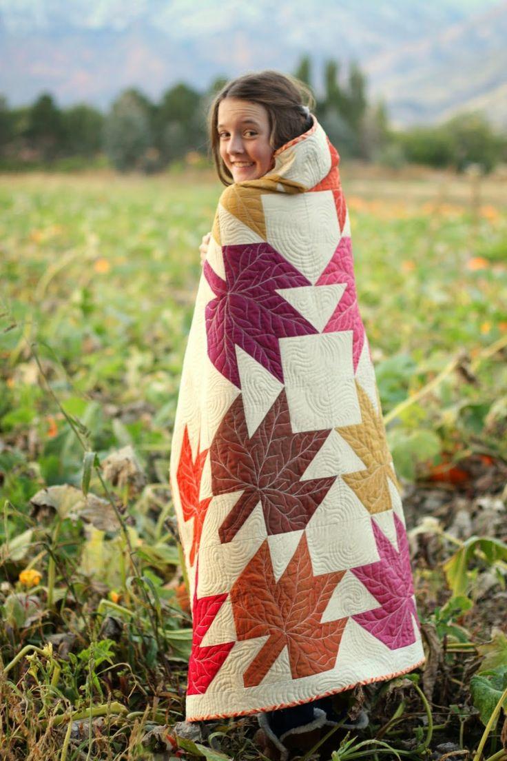 Diary of a Quilter - a quilt blog: Oakshott Modern Maples quilt