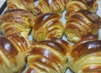 O Cantinho do Jorge: Croissant (brioche)