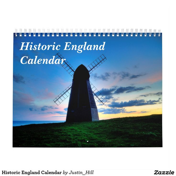 Historic England Calendar :- This calendar features a selection of historic views and scenes photographed within the south of England. 13 photographs for the price of 12...what a bargain! #England #historic #history #castles #palaces #pavilions #pavilion #windmills #churches #new year #new years #christmas #calendars