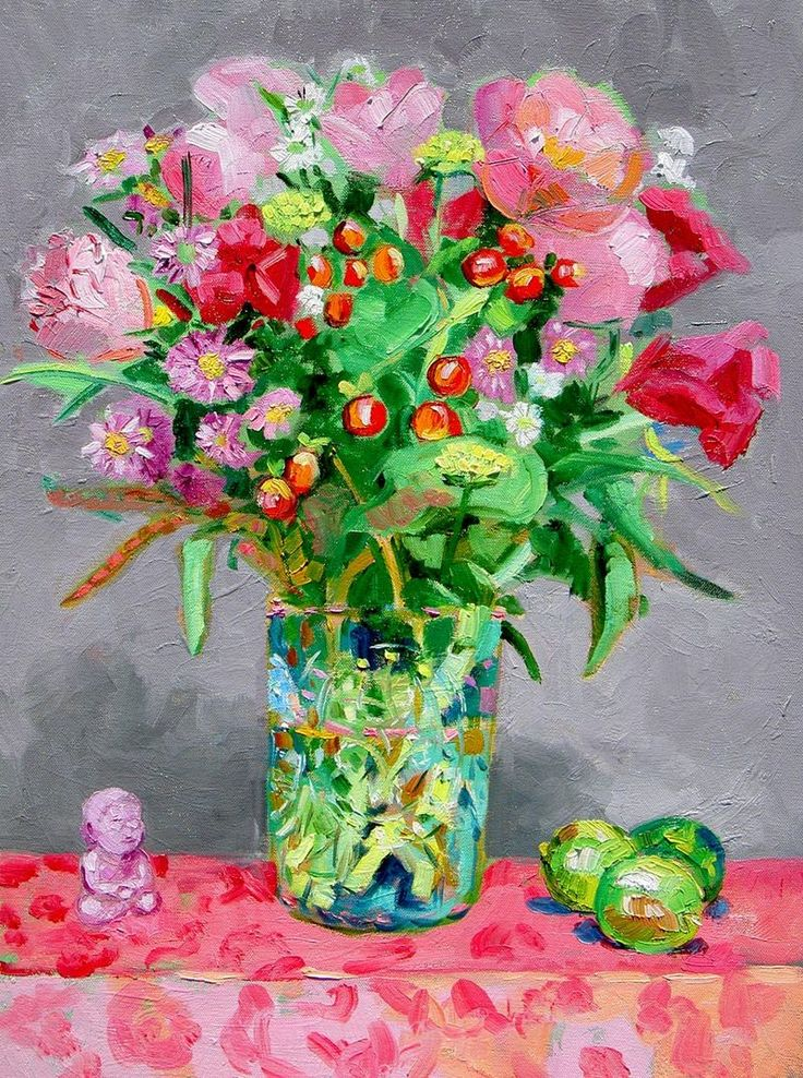 These are for you @Andrea A Elisabeth ✿⊱╮VoyageVisuelle...Hope you are feeling better and have a lovely weekend!! xoxo ♥ from @maybasket2 ....(Art by Margaret Owen)