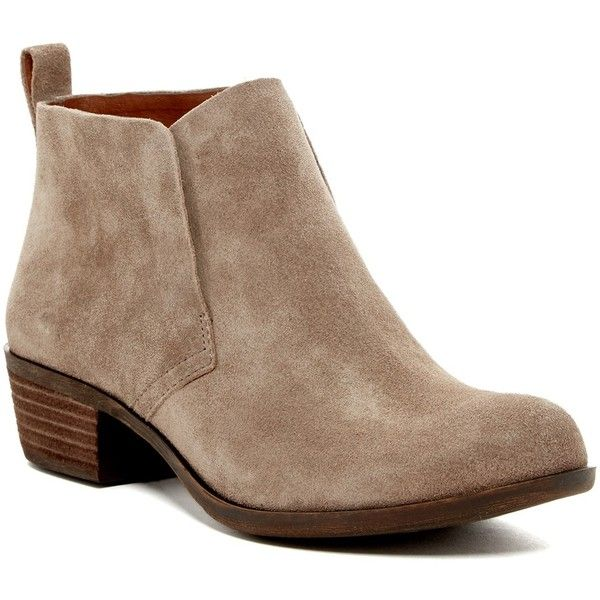 Lucky Brand Bianna Boot ($80) ❤ liked on Polyvore featuring shoes, boots,