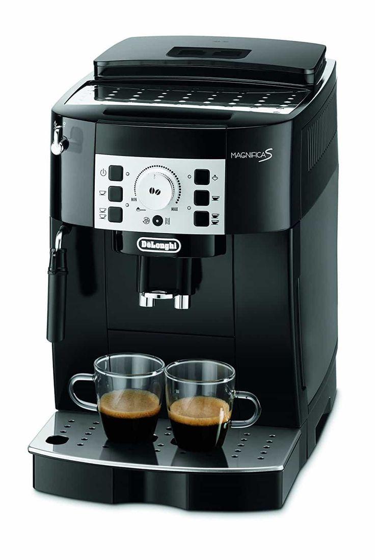 Der beste günstige Kaffeevollautomat - AllesBeste.de Kaffeevollautomaten sind praktisch und müssen nicht mal teuer sein. Unser Testsieger von Delonghi kostet nicht mal 300 Euro und macht trotzdem tollen Espresso und dank Milchschaumlanze auch stilechten Capuccino und Latte Macchiato. https://www.allesbeste.de/test/der-beste-guenstige-kaffeevollautomat/ #AllesBeste #Test #DelonghiECAM #Espresso #Espressomaschine #Kaffeemaschine #Kaffeevollautomat #MelittaCaffeo #Milchaufs