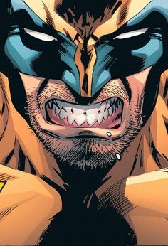 Aggression at its best #Wolverine #Marvel