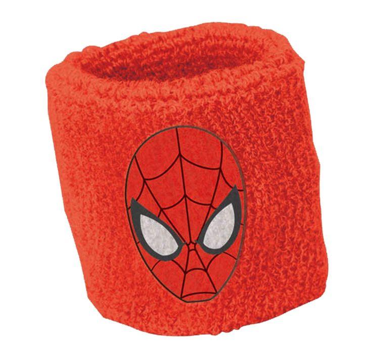 Spider-Man Sweat Bands (2) from BirthdayExpress.com