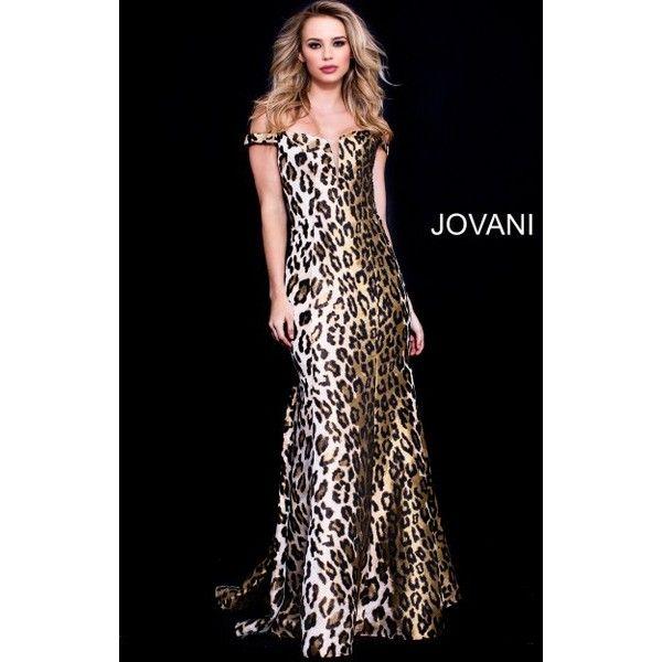 Animal Print Dresses ❤ liked on Polyvore featuring dresses, plus size long dresses, plus size homecoming dresses, formal cocktail dresses, formal prom dresses and formal evening dresses