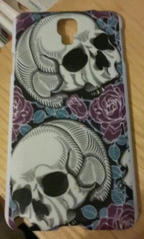 Cover note 3 neo skulls and roses