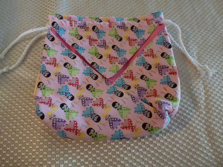 Drawstring bag - small by TheBouncingKangaroo on Etsy https://www.etsy.com/au/listing/498008900/drawstring-bag-small