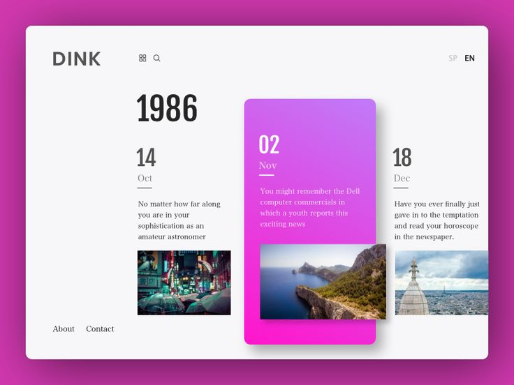Dink - Color Explorations