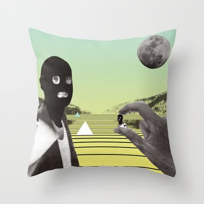 POP ART / DADA Throw Pillow by Klaff Design - $20.00