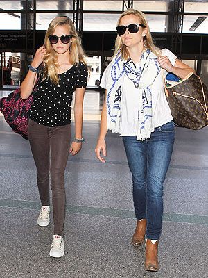 More airport style from Reese