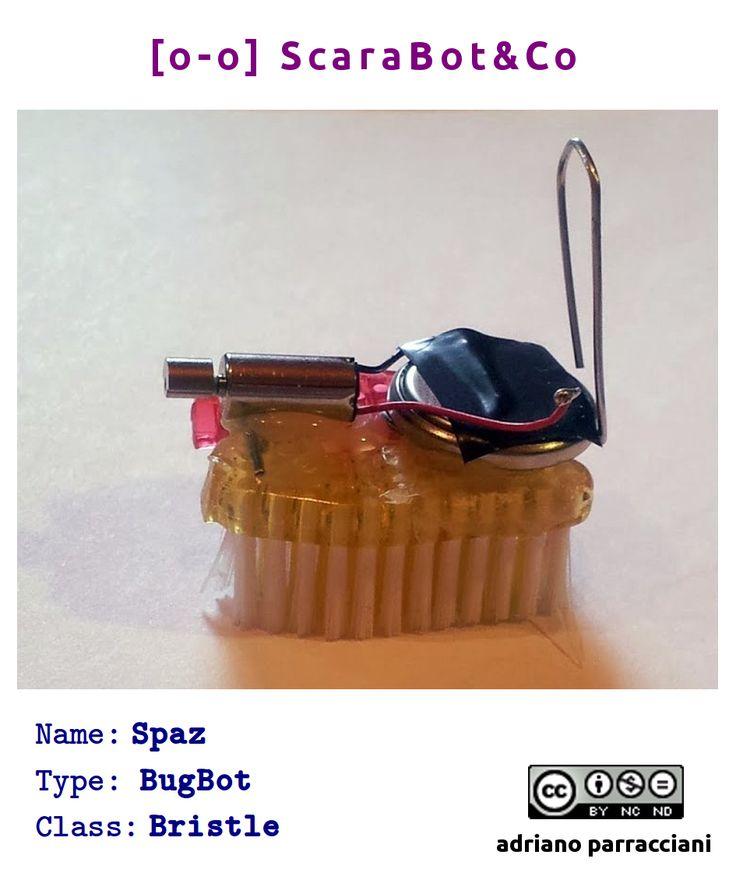 Spaz - BugBot #tinkering